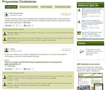 Online tools for engaging citizens in the legislative process | Diálogos sobre Gobierno Abierto | Scoop.it