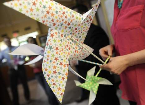 Pinwheel philanthropy: Girl raising funds for infant's cancer treatment - Sioux Falls Argus Leader | Fundraising Tips | Scoop.it