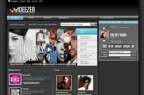 Les sites de Streaming de musique gratuits | Musique et internet | Scoop.it