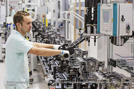 """The Journey Of Skoda To The """"11 Millionth Skoda Engine"""" 