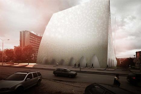 Prishtina Central Mosque Proposal by APTUM - eVolo | Architecture Magazine | The Architecture of the City | Scoop.it