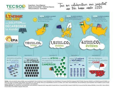 2015 sera l'année où l'énergie solaire s'imposera de façon irréversible (Tecsol) | Rénovation énergétique, énergies renouvelables, construction durable | Scoop.it