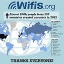 Wifis.org: 100 000 personnes partagent leur wifi dans 107 pays | Chuchoteuse d'Alternatives | Scoop.it
