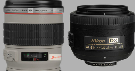 A Beginner's Guide to Canon and Nikon Lens Abbreviations | Focal | Scoop.it