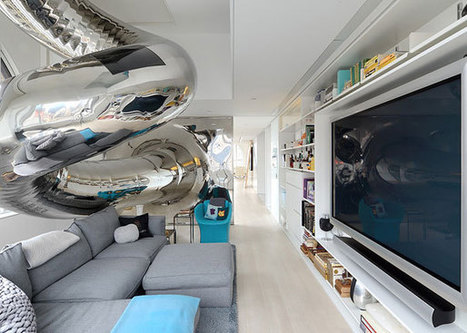 Stunning Penthouse with an Indoor Slide in a 19th Century Tower | Inspired By Design | Scoop.it