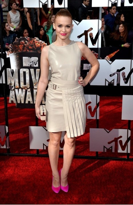 Holland Roden at MTV Movie Awards in LA - FabHype | Holland Roden | Scoop.it