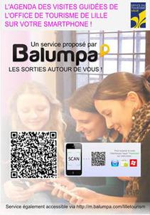 L'Office du Tourisme de Lille prend le virage du mobile avant le salon du tourisme lille 2012 (tourissima) | Où sortir avec le Blog Balumpa | OT et régions touristiques de France | Scoop.it