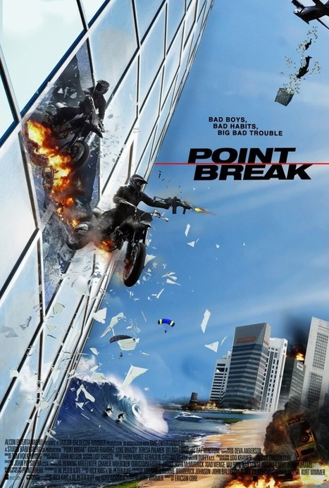 Movie Review: Point Break - It's Exhaustion With No Investment - Movie Smack Talk | Movies | Scoop.it