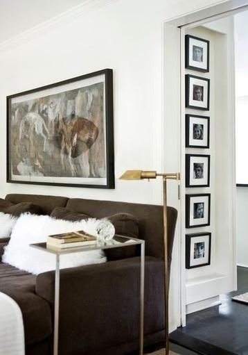 Comment réussir la disposition de ses cadres photos au mur ? - Dkomaison | Vivre sereinement son déménagement | Scoop.it