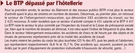 Les accidents du travail en baisse - La Dépêche de Tahiti | IRP | Scoop.it