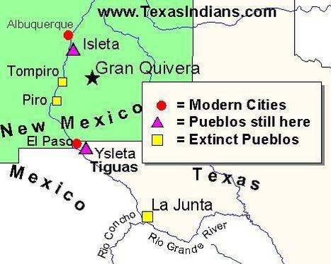 The Jumano Indians of Texas | Jumano Tribe | Scoop.it