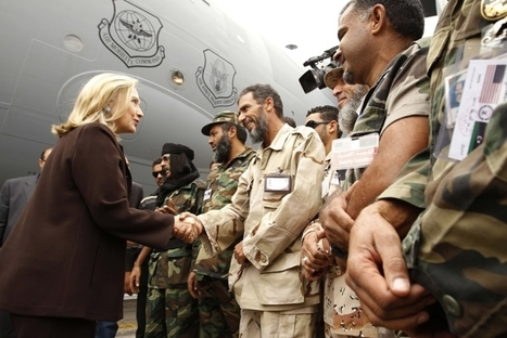 Hillary Rodham Clinton tells Libyans: 'We're on your side' | Coveting Freedom | Scoop.it