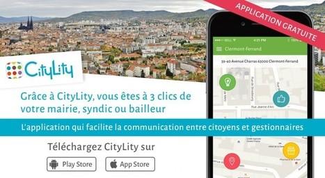 CityLity se lance à Clermont-Ferrand ! | Carte interactive | Scoop.it