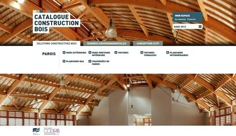 Catalogue construction bois et données environnementales on line   Ma Maison Bois   Scoop.it
