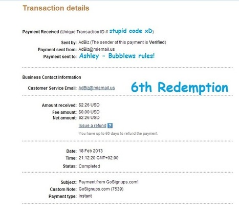 Another payment from GoSignups! - News - Bubblews | Articles - Byme | Scoop.it