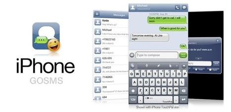 iPhone iOS6 GO SMS Theme v2.0 (paid) apk | Goodbye 2 My Shadow... | Scoop.it