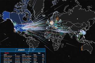 Une carte mondiale des cyberattaques sur Internet en temps réel | Wiseband | Scoop.it
