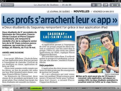 Twitter / lucplante: Deux brillants! http://t.co/cIdoIjjzra | L'enseignement du français au secondaire | Scoop.it