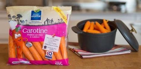 Carotine, la nouvelle référence lancée par Planète Végétal | Projet de DA Julia | Scoop.it