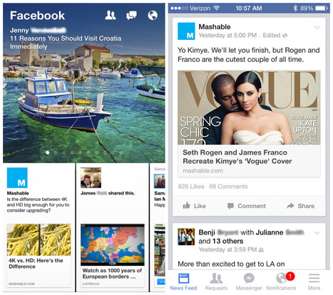 Facebook Paper: The Inside Story Is Not What You'd Expect | Communication design | Scoop.it