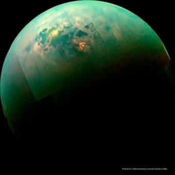 Le Soleil dans les lacs de Titan | The Blog's Revue by OlivierSC | Scoop.it