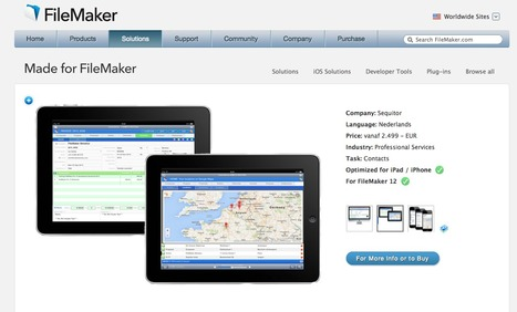 Mateo®CRM validated for FileMaker Pro 13 | Mateo ® CMR (FileMaker Pro 13 and FileMaker GO 13) | Scoop.it
