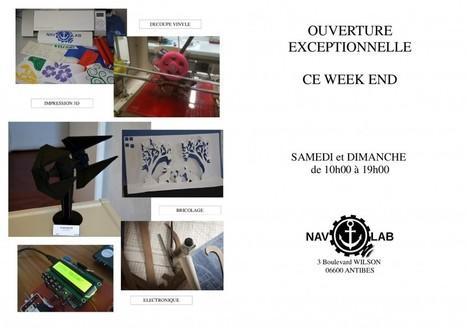 Ouverture exceptionnelle ce Week End | Le NavLab - le FabLab nautique d'Antibes | Scoop.it