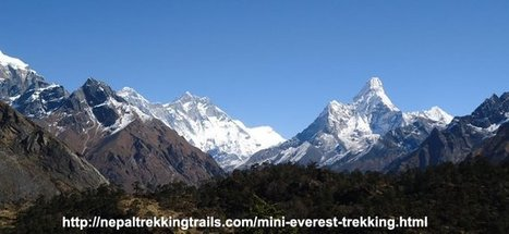 Everest Mini Trekking, Everest View Trek - Nepal Trekking | Nepal Trekking trails | Scoop.it