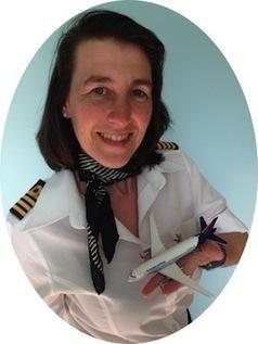 Rencontrez Sylvia Maertens, 1ere femme commandant de bord Belgique | Centre des Jeunes Dirigeants Belgique | Scoop.it