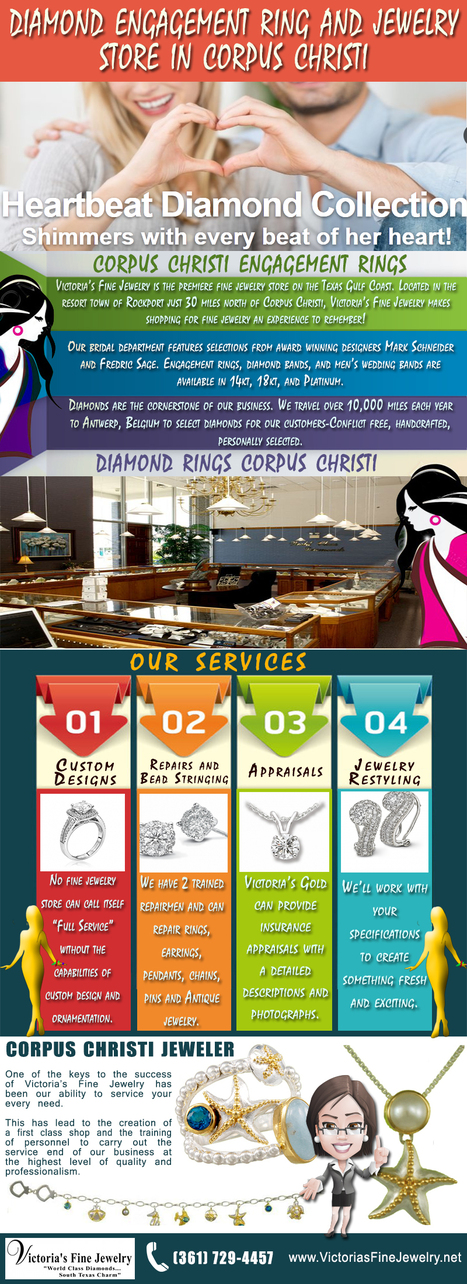 Diamond Engagement Ring And Jewelry Store in Corpus Christi | Corpus Christi Engagement Rings | Scoop.it
