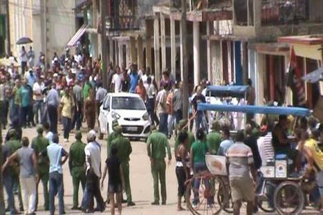 Twitter / ivanlibre: #Cuba Fuerzas d la policía ... | Para La Libertad | Scoop.it