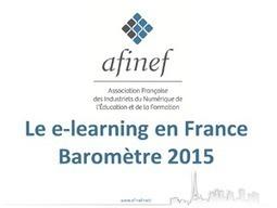 Baromètre e-Learning en France | AFINEF | digital learning news | Scoop.it