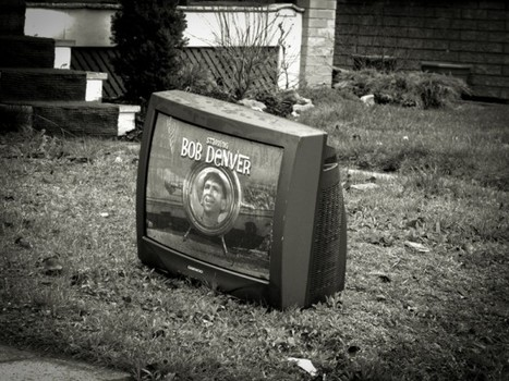 "Abandoned Televisions | Fubiz™ | ""Chicago, Gotham City?"" 