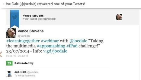 AppSmashing with iPads: Joe Dale webinar | TELT | Scoop.it