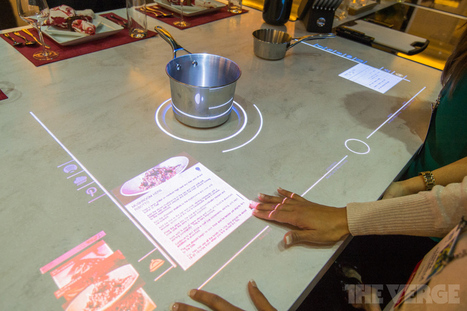 Whirlpool imagines a kitchen of the future with a touchscreen stovetop | Technology in the Home | Scoop.it