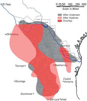 Geographic distribution of peyote / Lophophora | The Lophophora Blog | Scoop.it