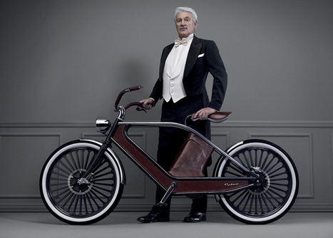 Beautiful Cykno Electric Bike Goes For Vintage Look - EarthTechling | elettromobility | Scoop.it