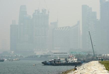 Asie du sud-est: un nuage de fumée d'incendies venant de Singapour se propage - Magazine GoodPlanet Info | Planete DDurable | Scoop.it