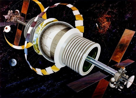 Back to the Future With 1970s Space Colonies | Carbohydrates are of the past, Space Solar the future. | Scoop.it