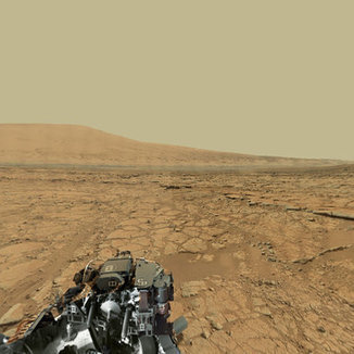 Mars Gigapixel Panorama - Curiosity rover: Martian solar days 136-149 | BTN | Scoop.it