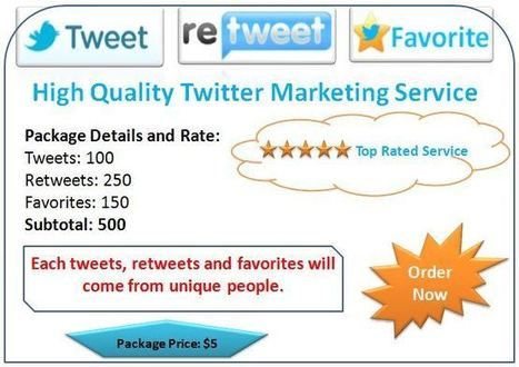 High Quality Twitter Marketing Service | Blogging Tips | Scoop.it