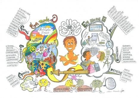 Soigner sa timidité par le mind mapping | Mind mapping, pensée visuelle et thérapie | Scoop.it