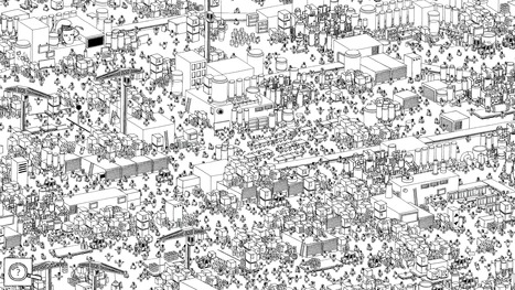 If you love adult coloring books, you'll enjoy 'Hidden Folks' | Books, Photo, Video and Film | Scoop.it