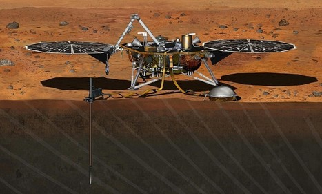 Mars InSight mission will drill deep beneath planet's crust for the first time   Geology   Scoop.it