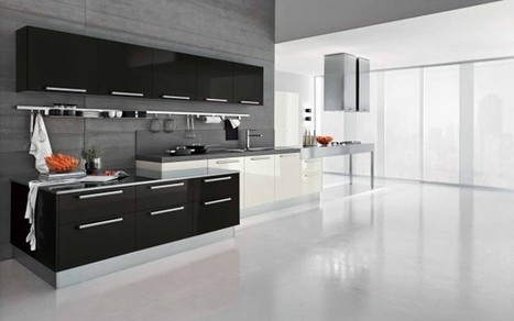 16 Modern Kitchen Designs For Everyone Who Loves Elegance | Home living Spaces - Kitchen - Bathroom - Living | Scoop.it