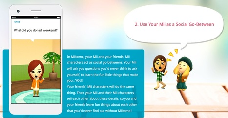 Miitomo | Nintendo | Tools for Teachers & Learners | Scoop.it