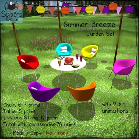 Snow in August - Mini Hunt | Freebies and cheapies in second life. | Scoop.it
