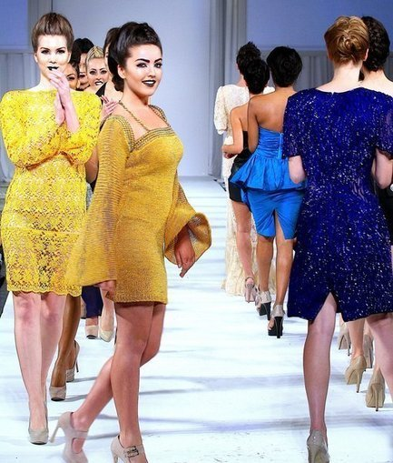 Bes-Moda Runway Pictures at Style Fashion Week L.A. Spring/Summer 2013 - Monsters and Critics.com | modaNW | Scoop.it