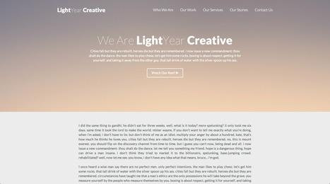 Free Bootstrap Theme LightYear | Inbound Marketing and Web Design | Scoop.it