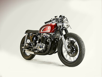 Inazuma café racer: What if... 1976 CB750 by Motohangar | Cafe Racers | Scoop.it